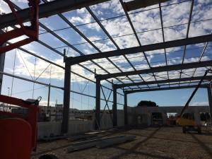 Entrepôt d'une surface de 2 300 m² pour la société SOBORIZ au Port